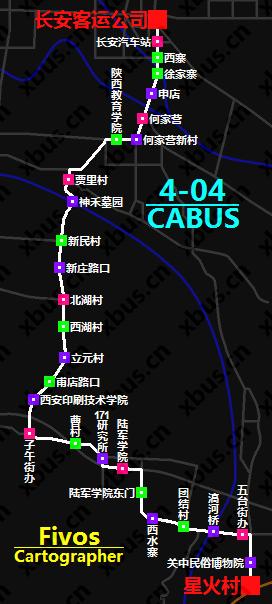4-04路公交车路线图》》