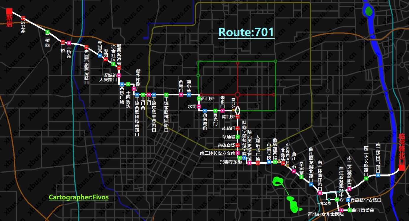 701路公交车-西安公交网